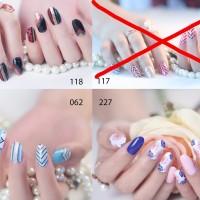 Glitters Nail sticker/ Instant Nail art / Sticker kuku High quality