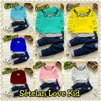 Setelan 2IN1 Love Kid