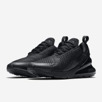 e4ff8a03dd Nike Air Max 270 Triple Full Black High Premium Original