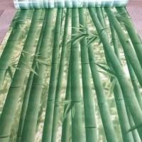 Bambu hijau tua uk.45cm x 10mtr - wallpaper stiker