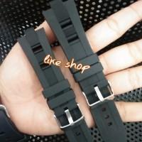 Terlaris Tali Strap rubber karet jam tangan Bvlgari Oris Bulgari