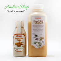 Harga paket promil serbuk kurma muda 60gr madu royal jelly   Pembandingharga.com