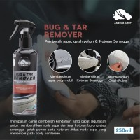 Bug & Tar Remover Pembersih Aspal Getah Pohon Kotoran Serangga Body