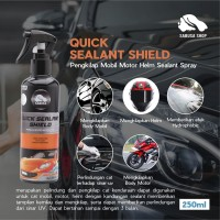 SABUSA Quick Sealant Shield Spray Pengkilap Cat Mobil Motor Helm 250ml