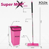 BOLDe Super Mop X Eco Alat Pel Kekinian ORIGINAL BOLDe