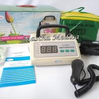 Doppler FHR Fetal Heart Rate Detector Dopler Besar LCD Lotus LT-800++