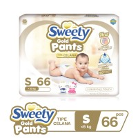 Sweety Gold Pants S 66s