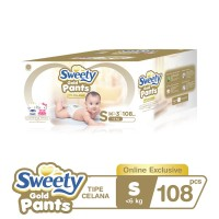 Sweety Gold Pants S 3x36s