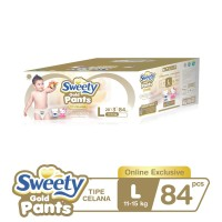 Sweety Gold Pants L 3x28s