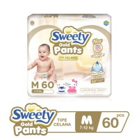 Sweety Gold Pants M 60s