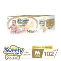 Sweety Gold Pants M 3x34s