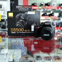 Harga big sale kamera dslr nikon d5500 18 55mm vr ii garansi resmi alta | Pembandingharga.com
