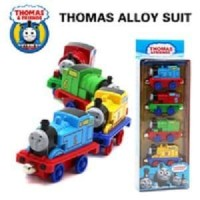 DIE CAST THOMAS AND FRIENDS BESI MAGNET ISI 4 PCS