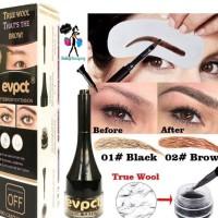 Evpct 3D Eyebrows Fiber Extension Gel Instant Waterproof