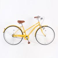 Asahi Innovation SS City Bike - Mustard