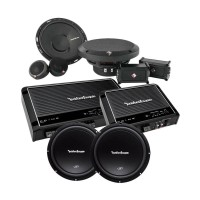 PROMO PAKET AUDIO ROCKFORD FOSGATE LIMITED EDITION HIGH QUALITY