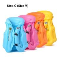 Rompi Pelampung Renang Anak step C Size M Swim Vest Ban Jaket