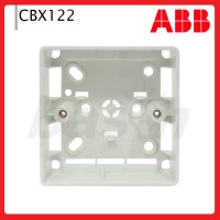 ABB CBX122 Surface Moulded Flush Box - Outbow Box untuk Saklar
