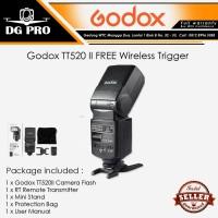 Godox TT520 II FREE Wireless Trigger Universal Speedlite Flash TT 520