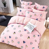 Bedcover Set katun Jepang 200x200x25 Lovely