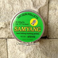 MIMIS SAMYANG LANCIP AIR GUN PELLETS CALL 177. .4.5MM KOREA