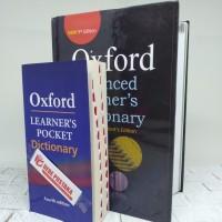 Paket Buku Kamus Oxford Advance Dan Learners pocket Dictionary