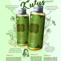 Kutus Kutus Organic Herbal Healing Oil FREE ONGKIR BONUS BOTOL SPRAY