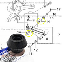 Karet Stabil Stabilizer Bushing Arm Ball Joint Chevrolet Spark Matiz