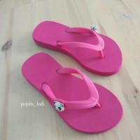 Sandal Popits Anak Flat Fuschia