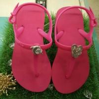 Sandal Popits Anak Slingback Fuschia