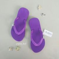 Sandal Popits Anak Flat Purple