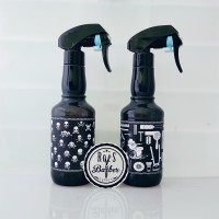 Botol Spray corak Alat Barbershop
