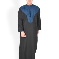 Jubah Macca Al-Isra Pakaian Gamis Muslim Pria Fashion Kurta Pakistan