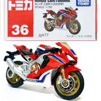 Tomica 36 HONDA CBR1000RR red Takara Tomy