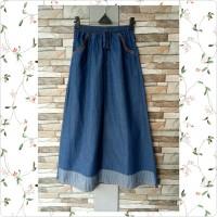 Rok panjang soft jeans anak