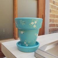 Pot Terracotta-Pot Tanah Liat-Diameter 9 cm-Pattern 3