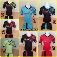 Baju Kaos Olahraga Jersey Bola Futsal Setelan Voli