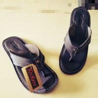 Sandal Sendal Pria kulit asli Kickers Jepit