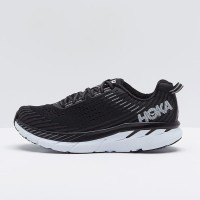 [Original] Sepatu Running Hoka One One Clifton 5 Black White