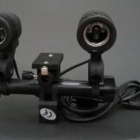 DISKON Dual Lamp Holder lampu studio B1ps818 Murah