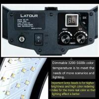 HOT PROMO RING LIGHT RINGLITE RINGLIGHT LATOUR LED HD 18S
