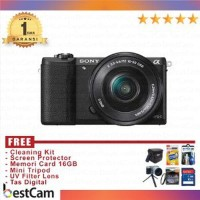 Sony A5100 Kit 16-50mm Hitam B1kl209 Murah