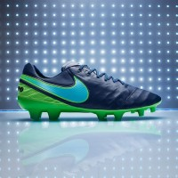 Sepatu Bola Nike Tiempo Legend VI FG Coastal Blue 819177 443 Original 34bb3a90f3