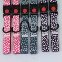 Aksesoris Hewan Dot Collar 20mm