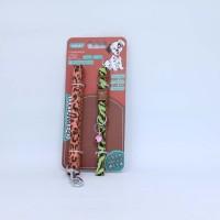 Aksesoris Hewan Leopard Colorful Leahs + Collar 15mm