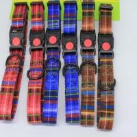 Aksesoris Hewan British grid collar 20mm