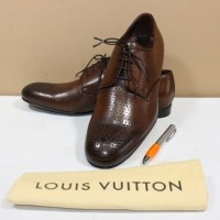 Sepatu pria branded LOUIS VUITTON LV Metropolitan loafers original