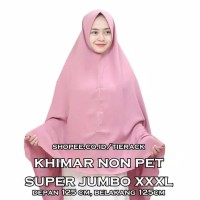 Khimar SUPER JUMBO NON PET Wolfis (Jilbab Model Syiria