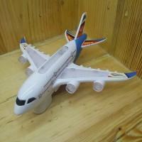 Mainan Pesawat Airbus Light & Sound