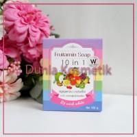 Harga fruitamin soap 10in1 by wink white original thailand sabun | antitipu.com